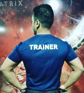 Certified Fitness trainer at 5000 only