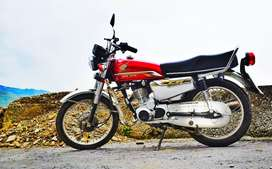 Honda 125 self start 20 model only 1200 used
