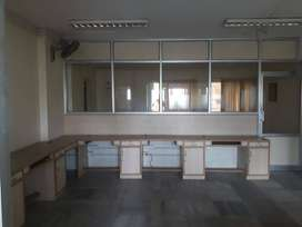 Near Race course 1500 sq ft furnished office space for rent