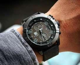 Jam tangan pria T5 H3000 black original