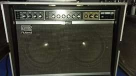 Roland jc120 japan jazz chorus 120 ampli gitar amply guitar