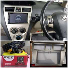 Head unit TV for Toyota Vios gen 2 plus camera