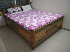 Strong Queen size bed with storage