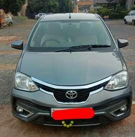 Toyota Etios VXD Xclusive, 2017, Diesel
