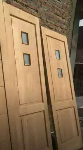 Kusen pintu dan jendela kayu jati