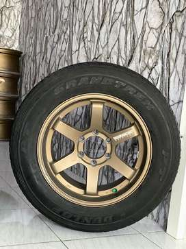 TE37 R18 Ban 80% Pajero,Fortuner,Everest,Dmax dll
