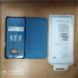 Original Samsung S8 plus LED VIEW STYLE COVER BLUE