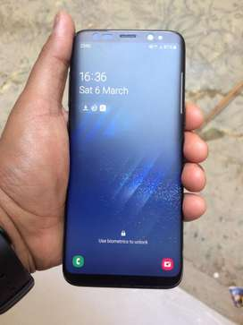 S8 dual sim approved with box