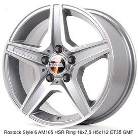 HSR Rostock Style ring 16x75 hole 5x112 et 35