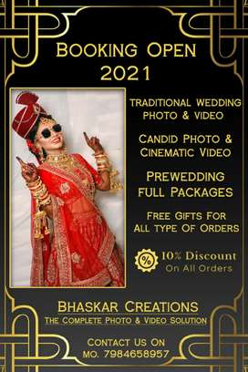 Photography & Videography In Wedding, Pre-wedding, Engagement & events