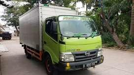 Truk Hino Dutro 4ban 110SDL 2013 box long casis sgt bagus terawat