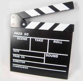 claper board papan action ACTION FILM home deco
