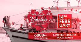 Valentine Day Special, Royal Couple Dinner on 14th Feb 2020, Friday