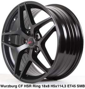 Velg tkb bali WURZBURG CF HSR R18X8 H5X114,3 ET45 SMB