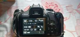 Canon D 1300 18/55 lens and 55/250 18 month old