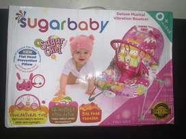 Sugar baby vibration bouncer