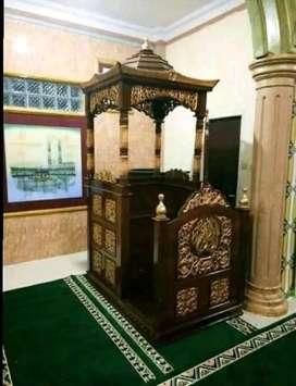 mimbar masjid simple 118