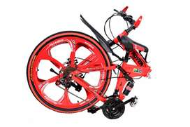 NEW LAND ROVER 21 GEARS FOLDABLE CYCLE IN 6 SPOKE