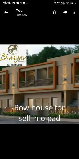 Row house for sell in olpad