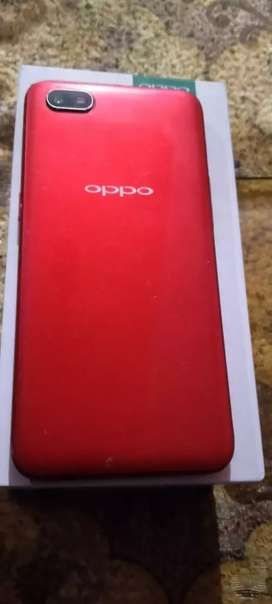 Oppo A1k bill and box good condition/