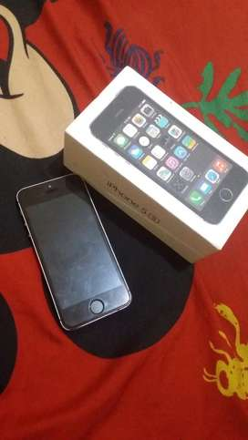 iphone 5s 64gb normal grey