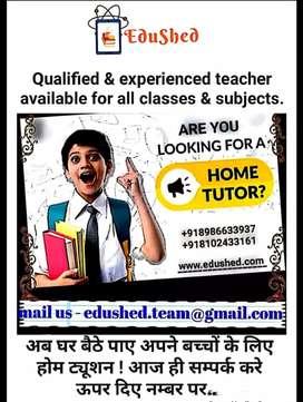 Qualified home tutor in Jamshedpur
