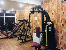 Gym full new branded setup fully commercial ( manufacturer )