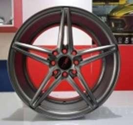 Velg-hsr wheel NE5-HSR-Ring-16-Lebar-7-Hole-8X100-1143-ET-40.-Grey