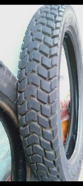 Almost new tyres for sale Size 2.75-18_1month use only