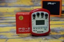 Efek gitar portable nux