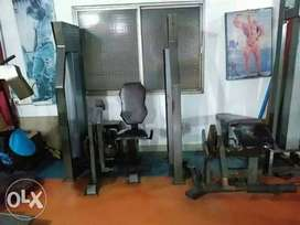 USED VERY HEAVY-DUTY 12 station GYM machines for sell..