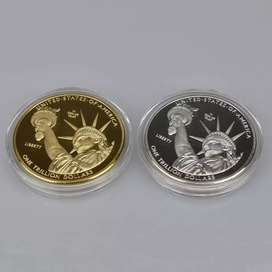 US Soveniur Coin, Gold/Silver platted