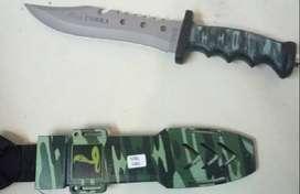 pisau copra belati model 2 loreng RP.85.000=1 pcs -sepaket sarung  -pa