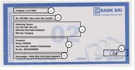Jual Form Cetak untuk Bank Rakyat Indonesia OPS 01 OPS 02 Formless 01