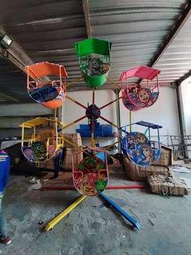 OKT pabrik odong odong kincir mini gerobak minicoaster