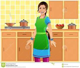 Veg and Non Veg Cook Required for Full Time work