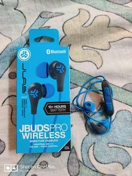 Bluetooth earphones jlab, just opened the box.
