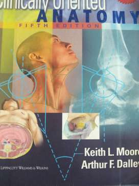 Clinical Anatomy Fifth Edition Book