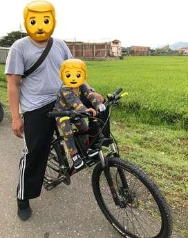 Besi Boncengan Anak Sepeda MTB