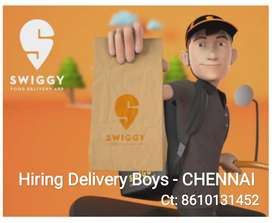 SWIGGY VADAPALANI REQUIRED FOR FOOD & GROCERY DELIVERY