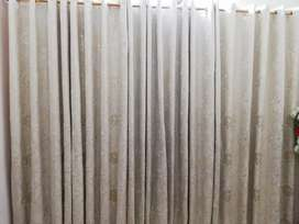 Two pairs of high quality fancy curtain  in 10/10 Condition