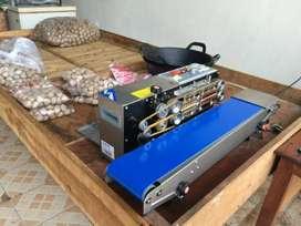 mesin continous band sealer horizontal frb770i murah