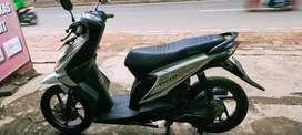 Honda beat karbu 2012 putih tg-1pajak hidup