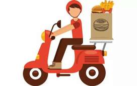 Delivery boys with motorcycle for food delivery