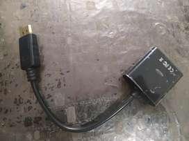 Display port to VGA Adapter