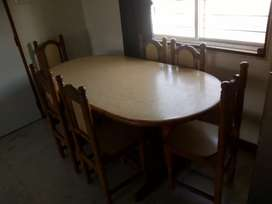 Dining table set (6 Chair)