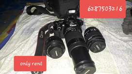 Camera  Rent Ke Liyea