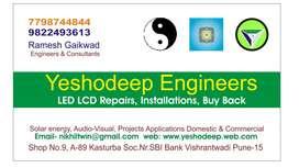 LED LCD TV Repair Services Laptop Desktop Services
