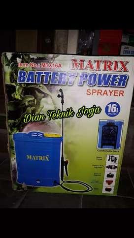 (Dian Teknik bka smp mlm) Sprayer penyiram hama elektrik saja