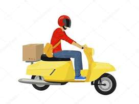 Urgent requirment for delivery boy